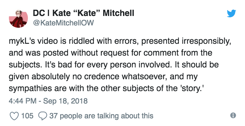 Kate Mitchell/Twitter