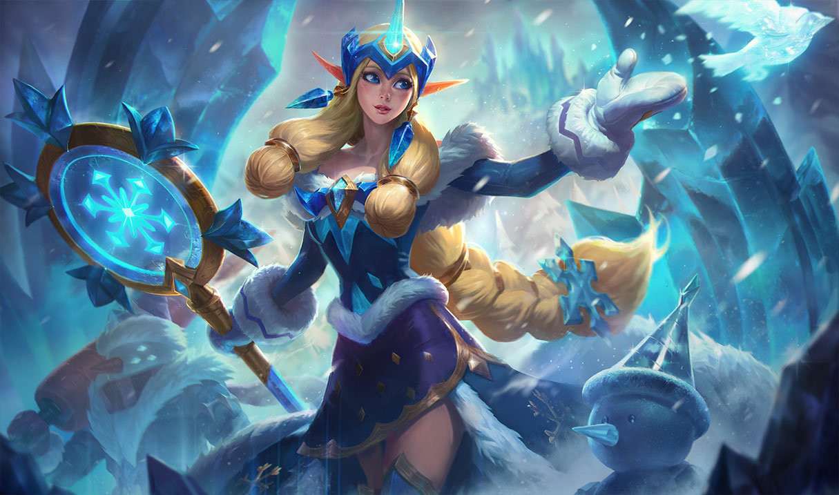 """Healing in League should drop a little if Riot can get the """"Moonstone Staff"""" combo under control."""