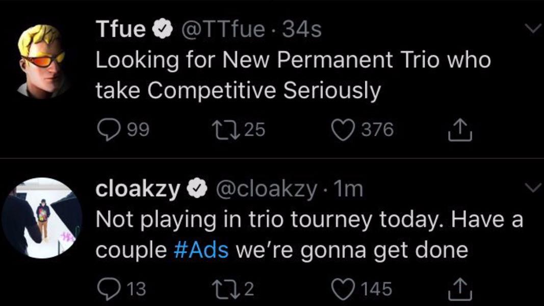 Twitter: @TTFUE/@CLOAKZY