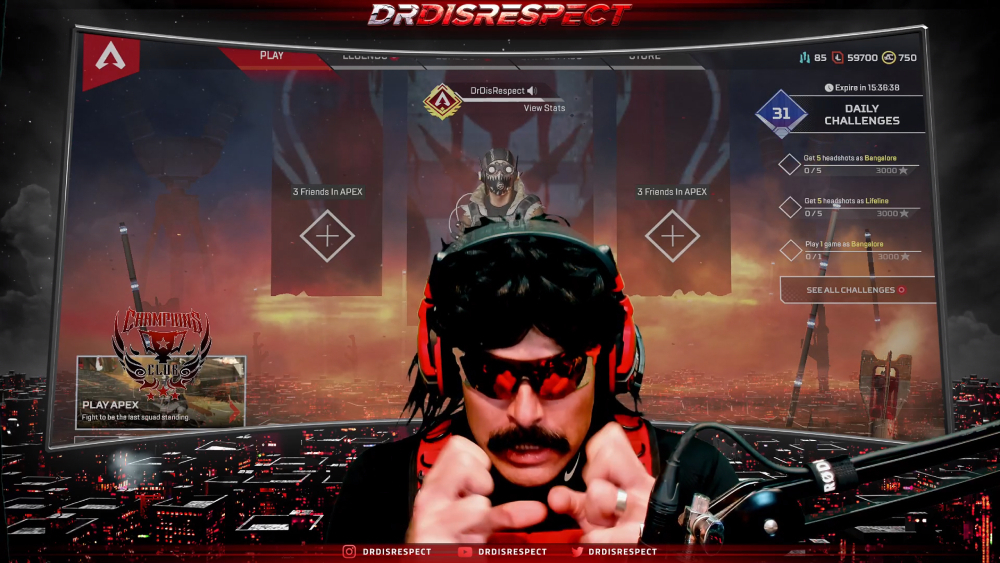 Twitch/Dr Disrespect