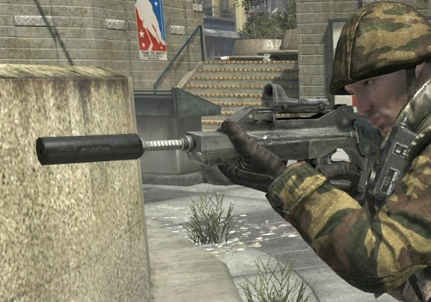 The FAMAS from Call of Duty: Black Ops