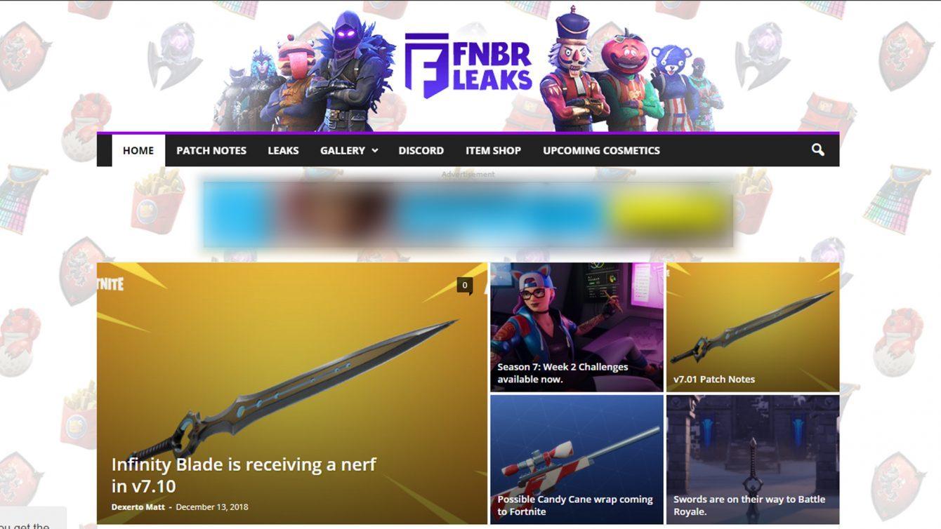 FNBR Leaks via Dualshockers