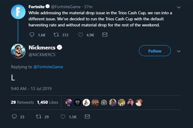 NICKMERCS Twitter