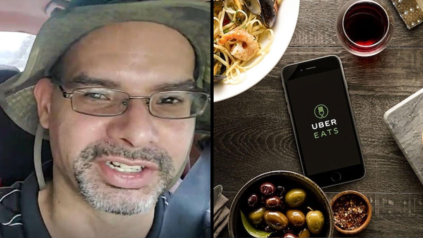 Twitch: OkDudeTv / Uber EATS