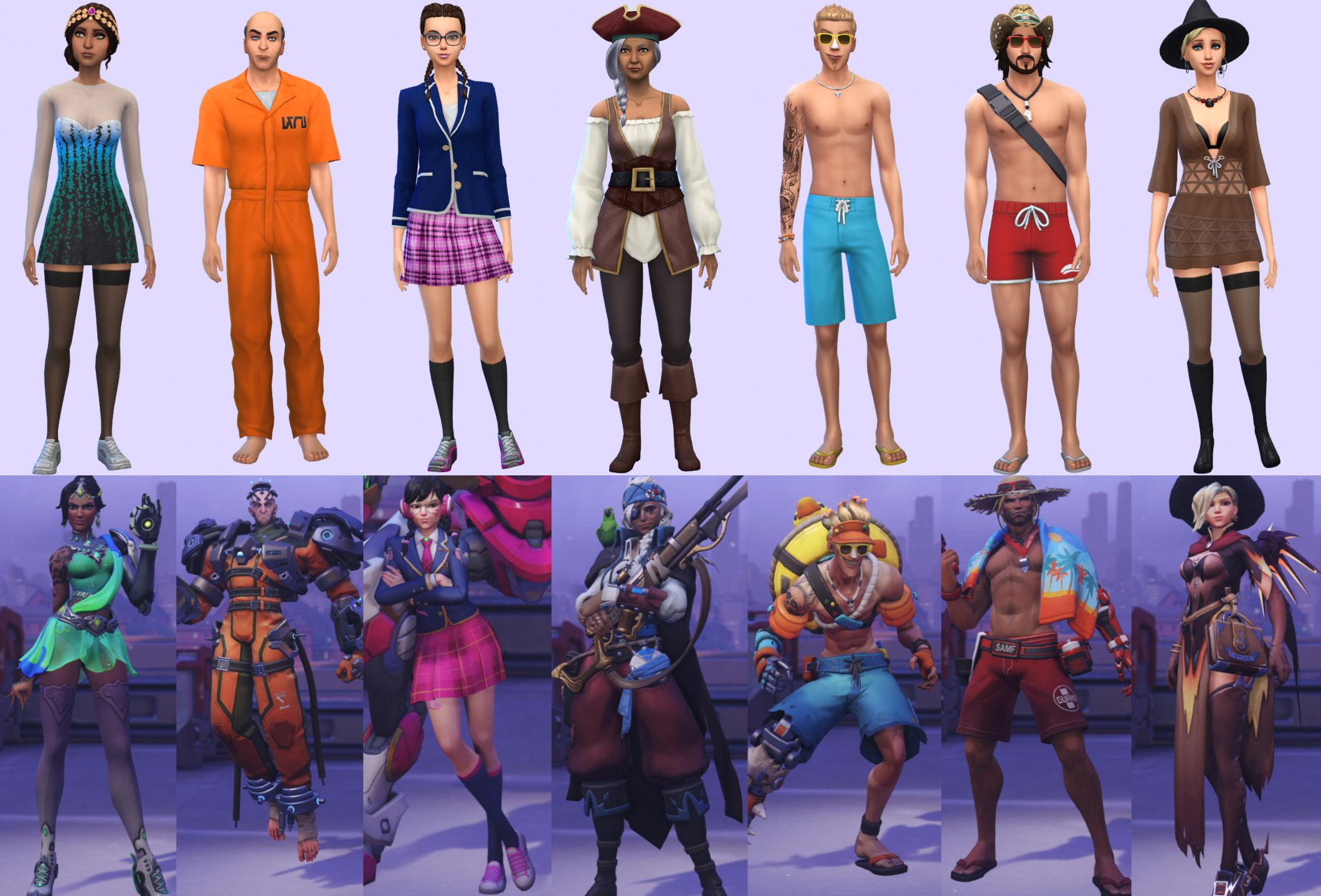 ModTheSims/LaLuvi/Blizzard Entertainment