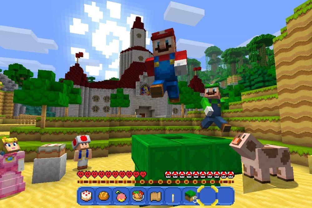 Minecraft: Mojang / Nintendo