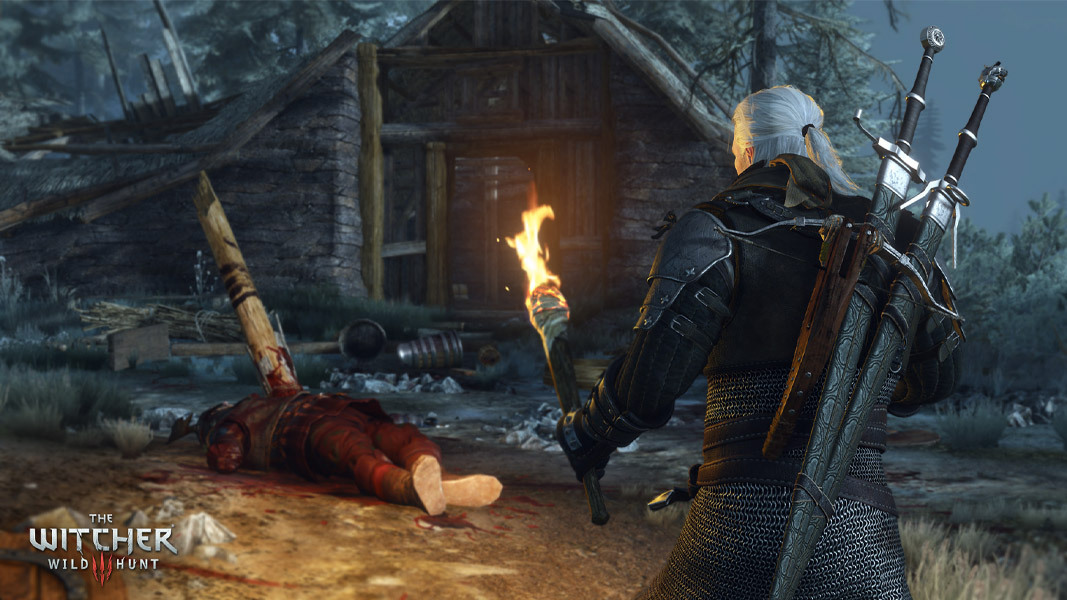 Geralt Witcher 3