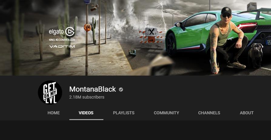 YouTube: MontanaBlack