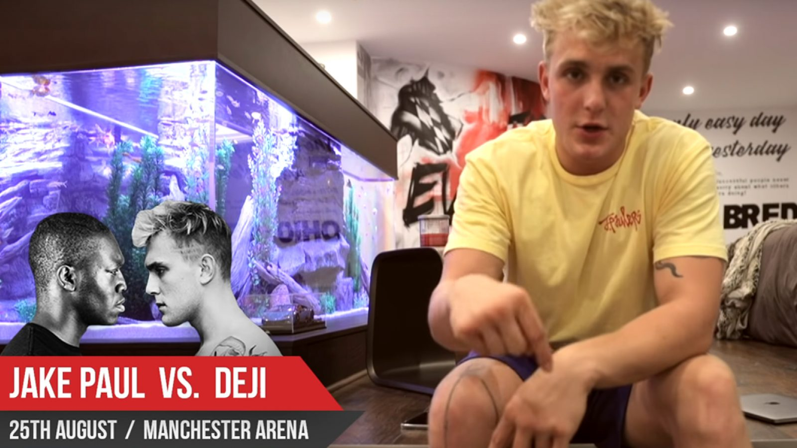 Jake Paul Makes it Clear You Won't be Able to Watch Free ...