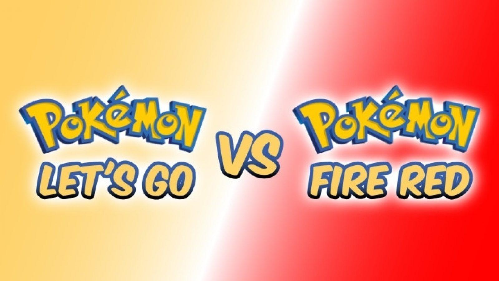 Pokemon Let S Go Vs Pokemon Fire Red Differences Dexerto