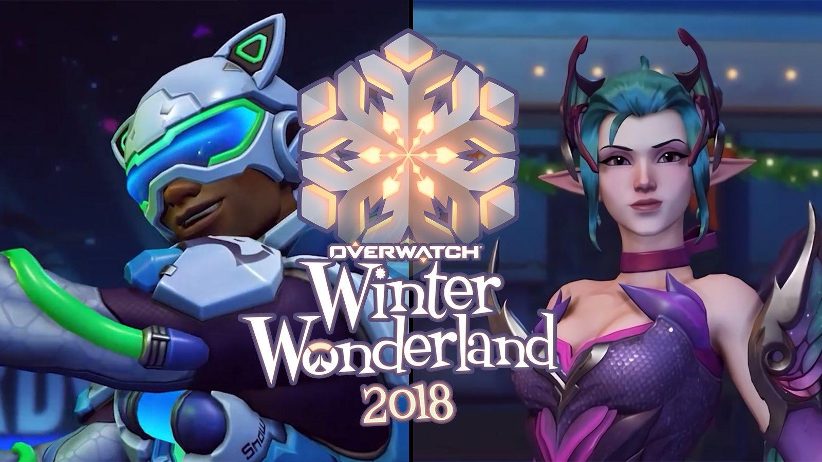 Overwatch Winter Wonderland 2018 Skins Game Modes And More Dexerto