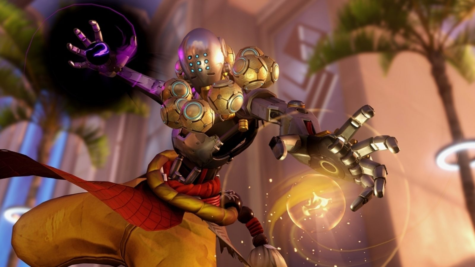 Zenyatta attacks
