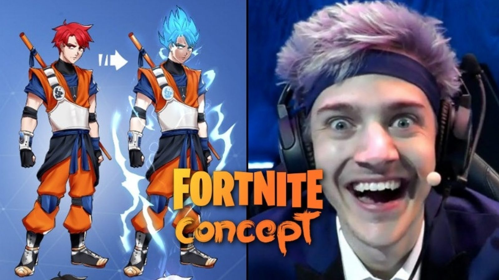These Dragon Ball Z Fortnite Skins Are So Cool That Ninja Would Pay 100 For Each Dexerto Called here's how to unlock the fortnite anime skin on pc, ps5, ps4, xbox series x|s, xbox. these dragon ball z fortnite skins are