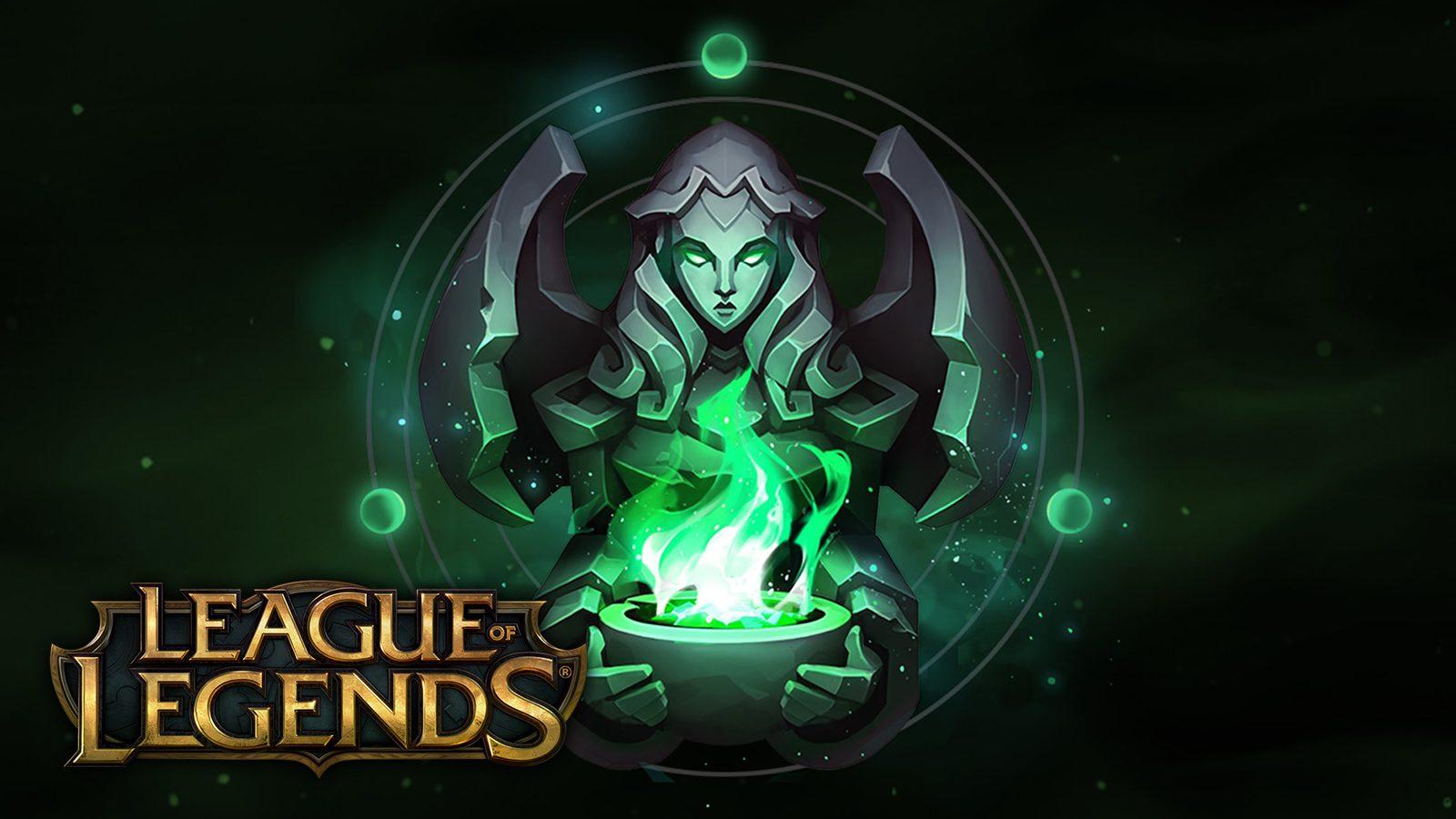 League of Legends Eternals logo green