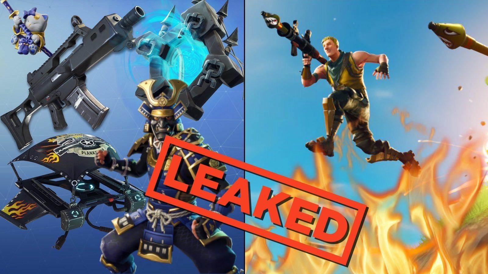 Full Roundup Of All The Fortnite Leaks And Changes From Mega Update V5 30 Dexerto Get all the fortnite leaked skins, latest leaked weapons, new season challenges & leaked map details. mega update v5 30