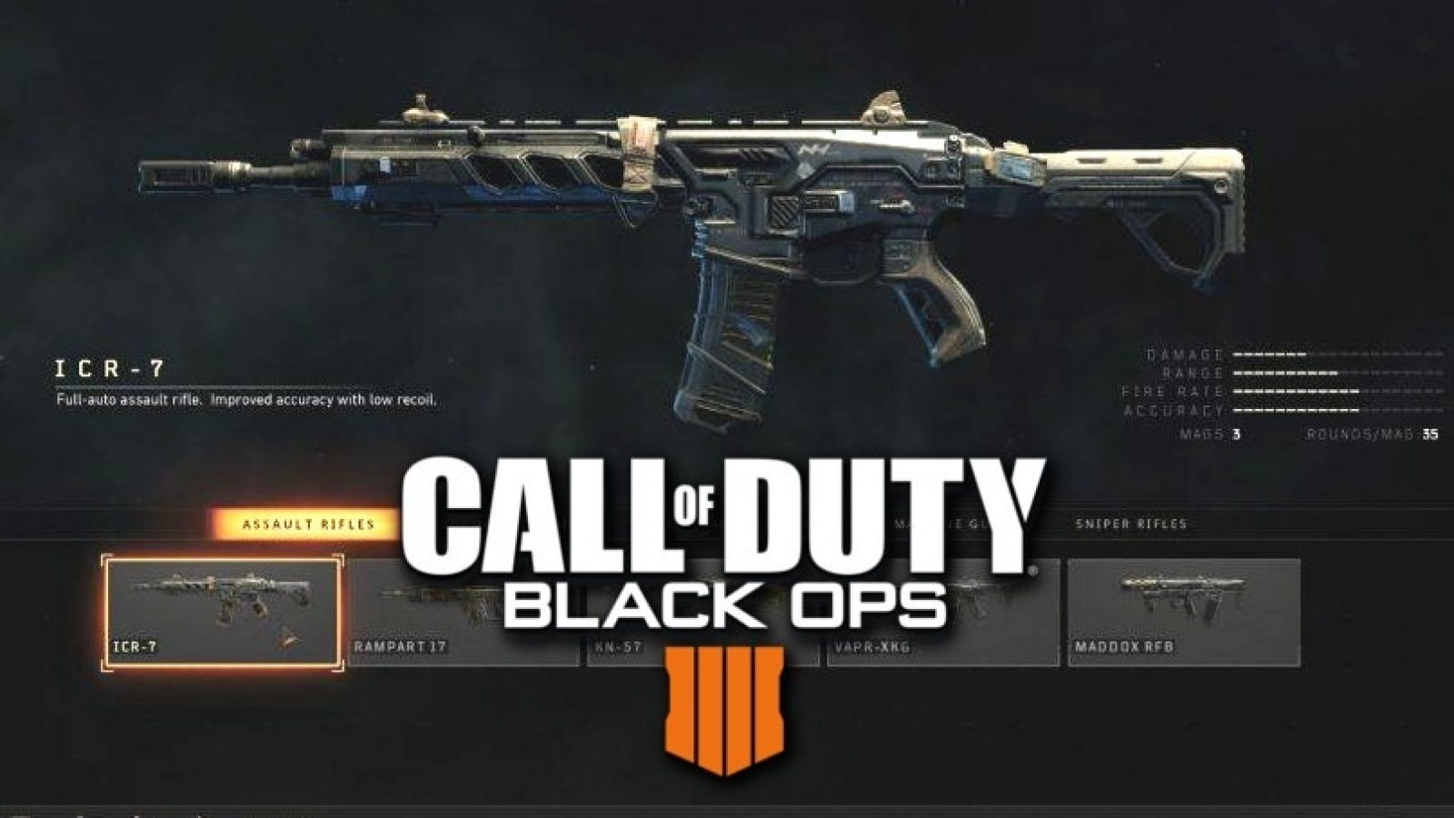 Best Icr 7 Attachments And Class Setups To Use In Black Ops 4 Multiplayer Dexerto