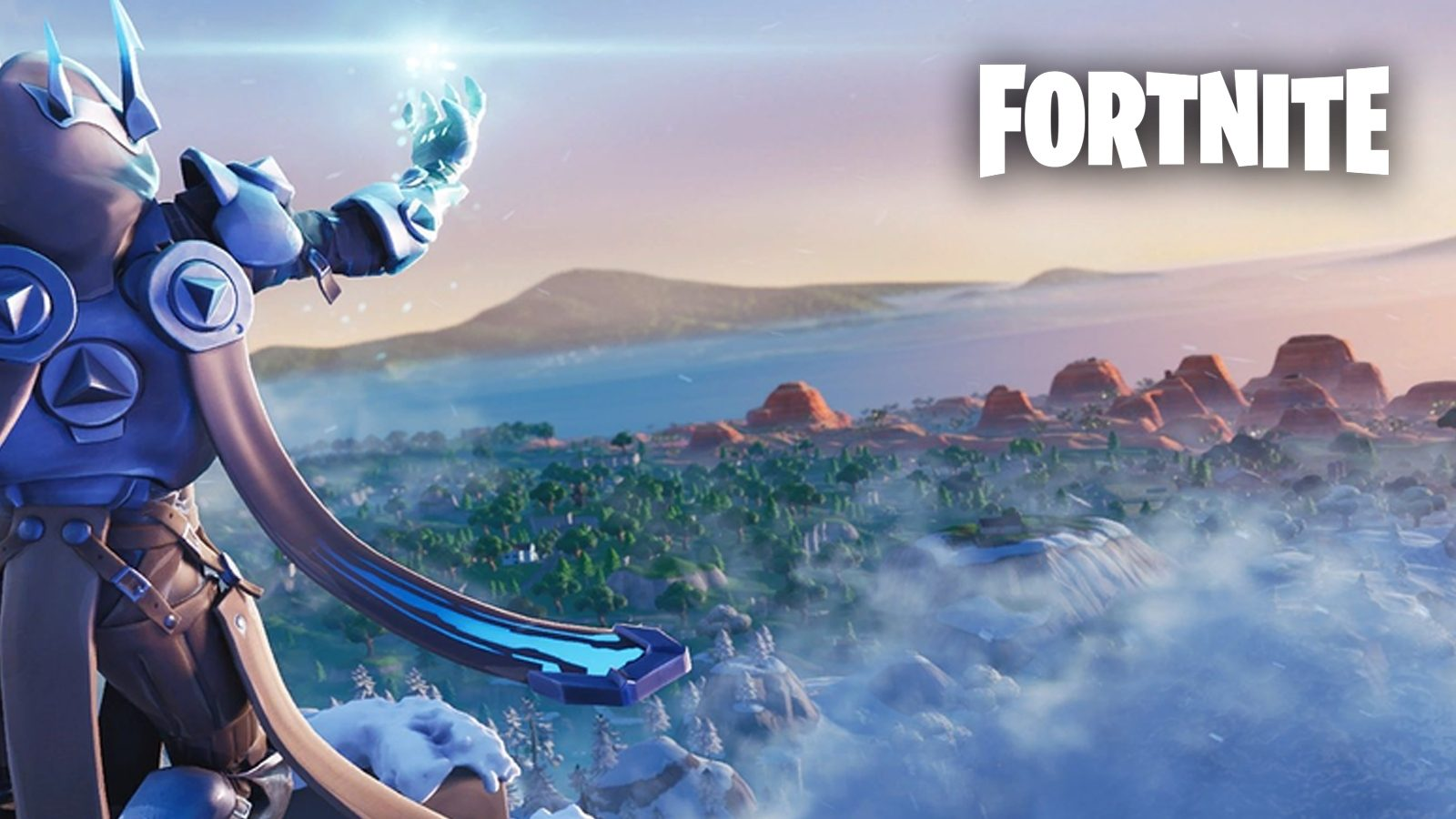 The last time Fortnite's map was covered with snow was back in Season 7.