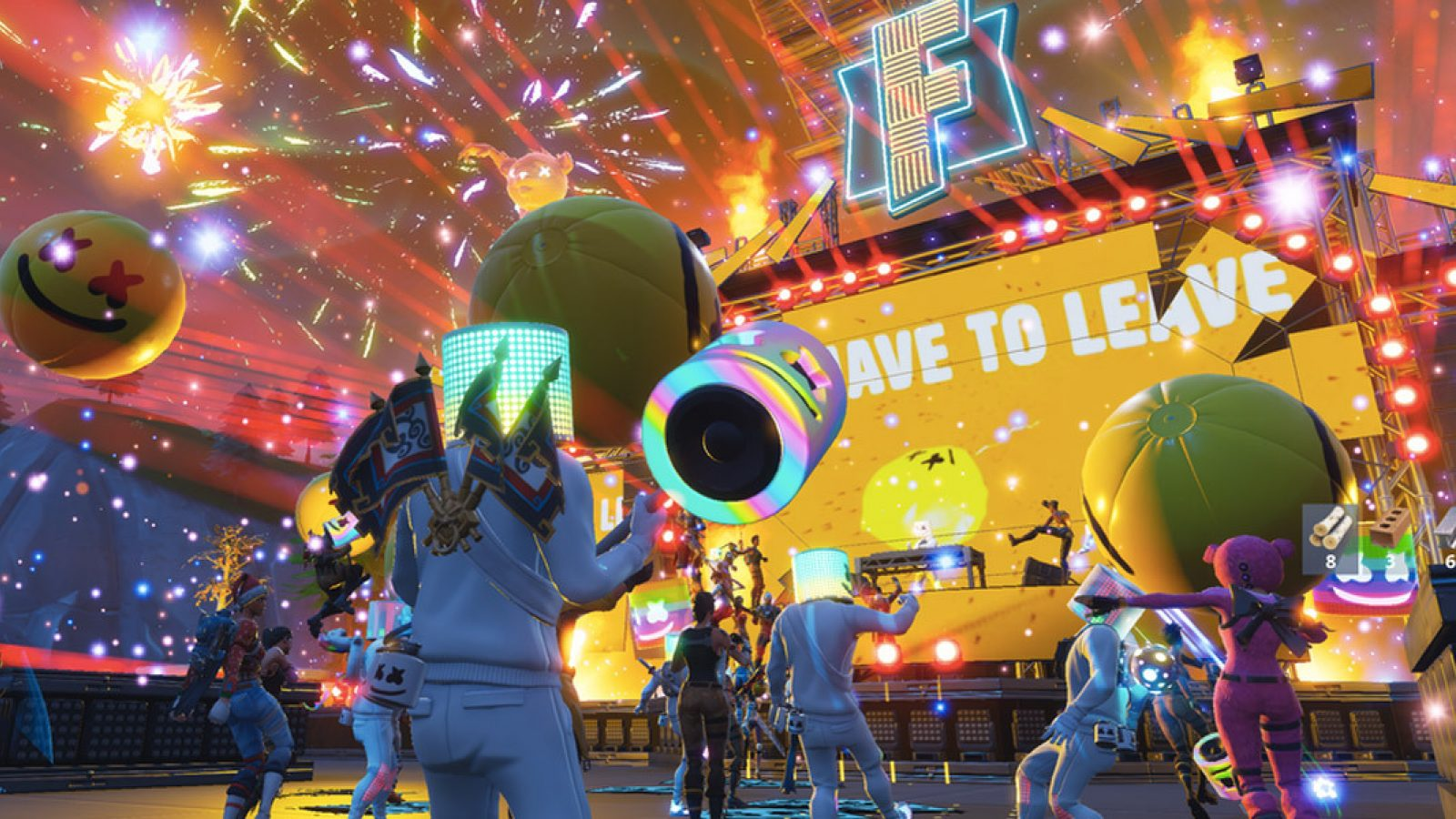 Marshmello Fortnite concert event