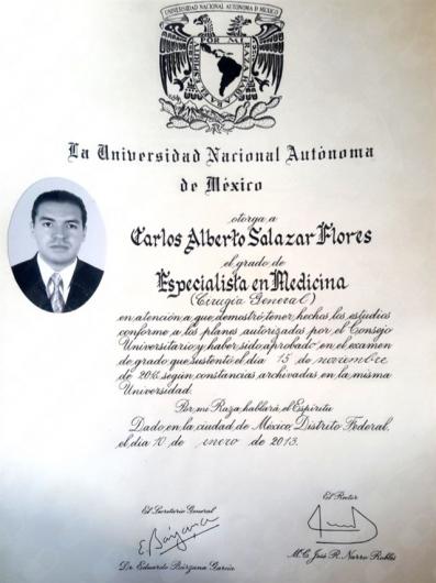 Carlos Alberto Salazar Flores - Multimedia