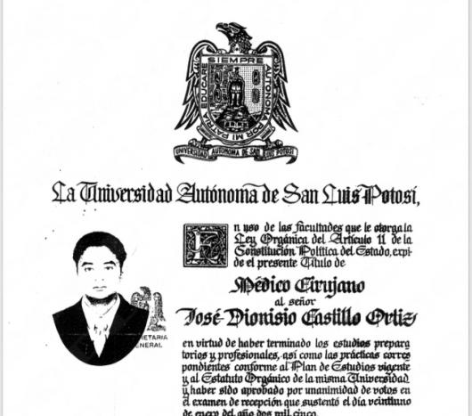 José Dionisio Castillo Ortiz - Multimedia