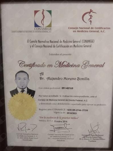 Alejandro Moreno Bonilla - Multimedia