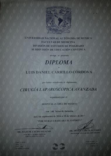 Luis Daniel Carrillo Córdova - Galería de imágenes