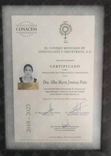 Alba María Jiménez Peña - Galería de imágenes
