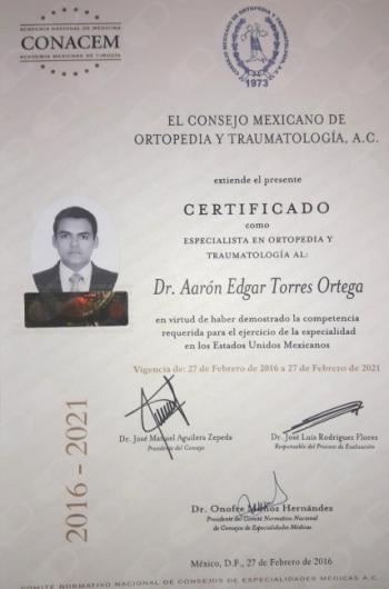 Aarón Edgar Torres Ortega - Galería de imágenes