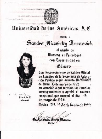 Sandra Niesvizky - Galería de imágenes