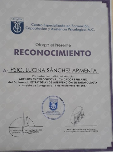 Lucina Sánchez Armenta  - Multimedia