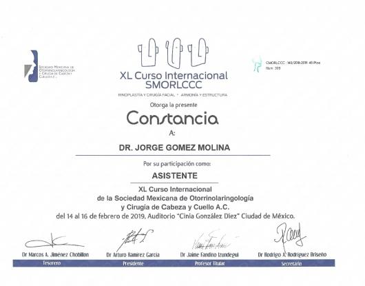 Jorge Gomez Molina - Galería de imágenes