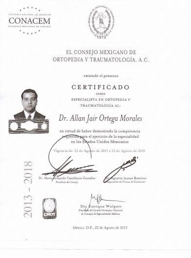 Allan Jair Ortega Morales - Galería de imágenes