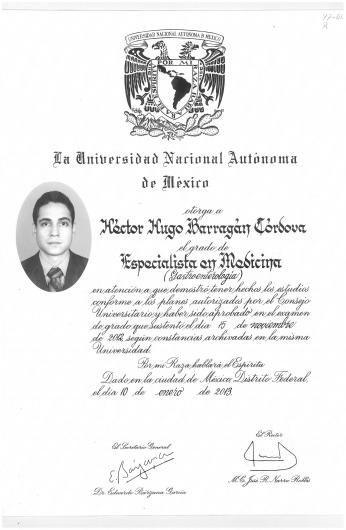 Héctor Hugo Barragán Córdova - Galería de imágenes