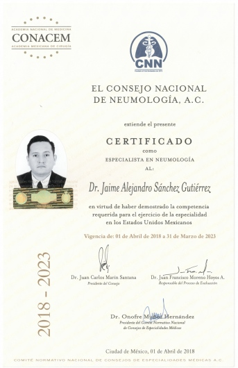 Jaime Alejandro Sánchez Gutiérrez - Galería de imágenes