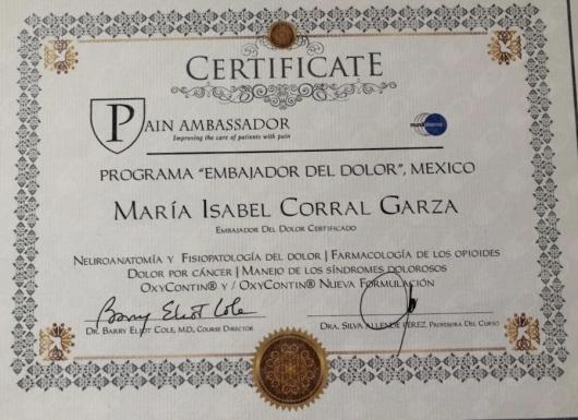 María Isabel Corral Garza  - Multimedia