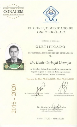 Dante Carbajal Ocampo  - Multimedia