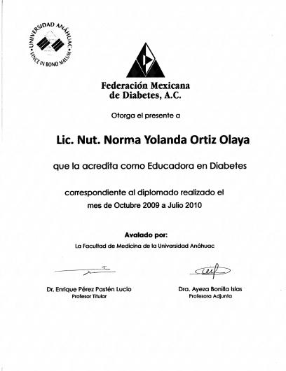 Norma Yolanda Ortiz Olaya - Galería de imágenes