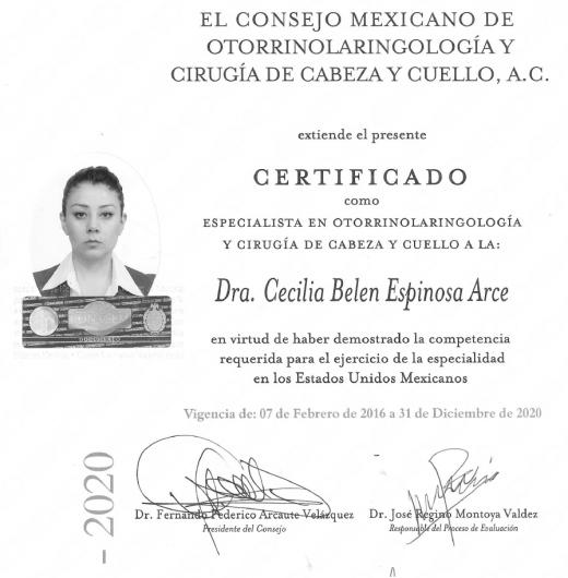 Cecilia Belen Espinosa Arce - Galería de imágenes