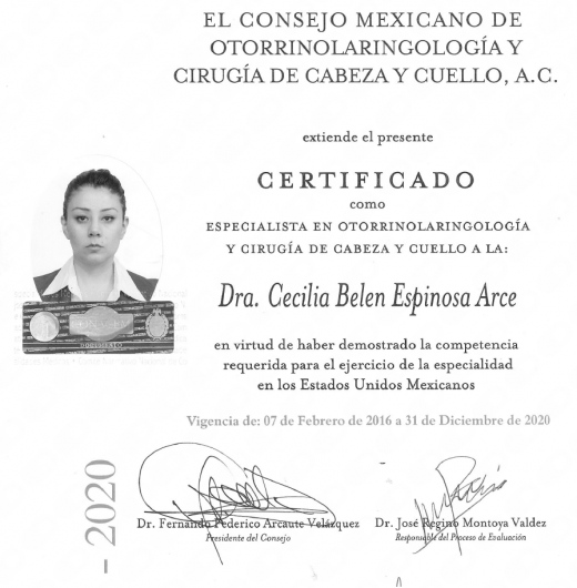 Cecilia Belen Espinosa Arce - Multimedia