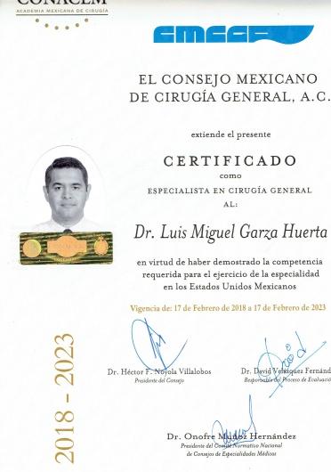 Luis Miguel Garza Huerta  - Multimedia