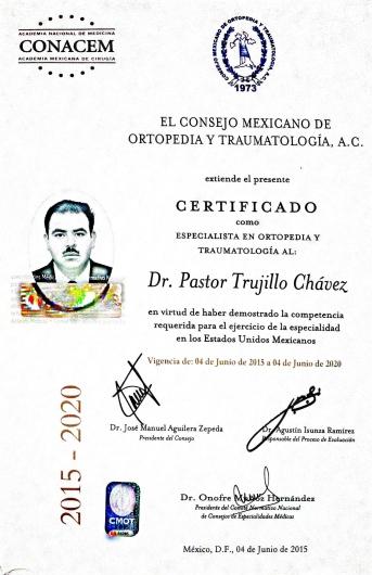 Pastor Trujillo Chávez - Galería de imágenes