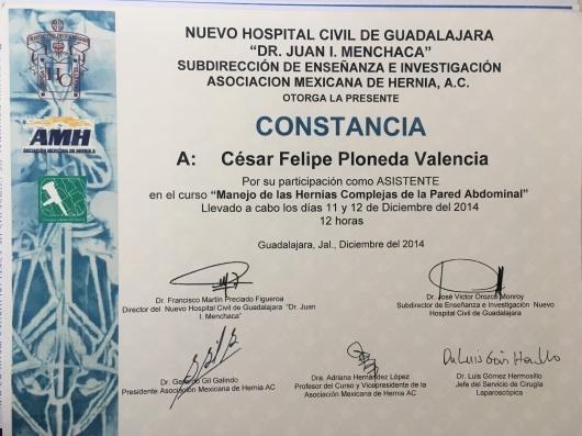 César Felipe Ploneda Valencia - Galería de imágenes