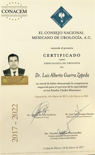 Luis Alberto Guerra Zepeda - Galería de imágenes