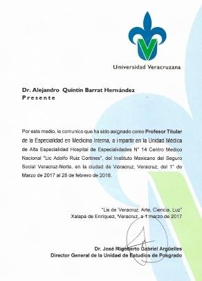 Alejandro Quintín Barrat Hernández  - Multimedia
