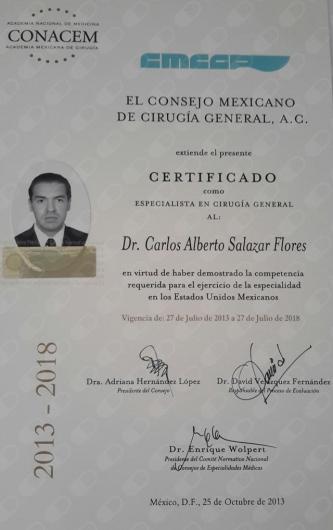 Carlos Alberto Salazar Flores - Galería de imágenes