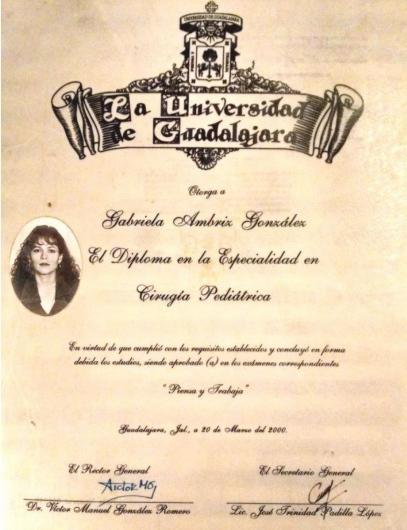 Gabriela Ambriz Gonzalez - Galería de imágenes