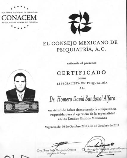 Homero David Sandoval Alfaro - Galería de imágenes