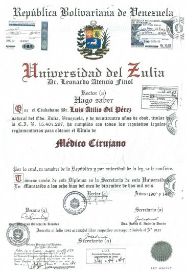 Luis Atilio Gil Pérez - Multimedia