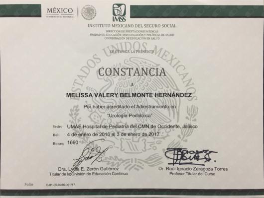 Melissa Valery Belmonte Hernández - Multimedia