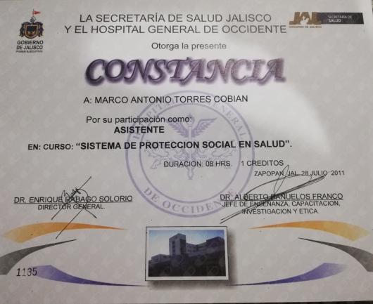 Marco Antonio Torres Cobian  - Multimedia
